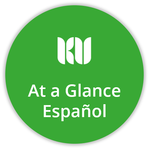button at glance Spanish